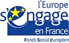 Logo du Fonds Social Européen (FSE)